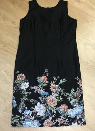 Платье с каймой размер 16