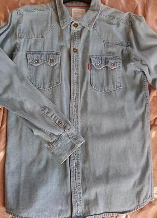 Джинсова сорочка levis