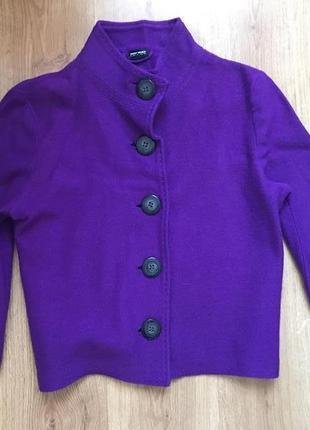Новый стильный шерстяной пиджак жакет кардиган gerry weber 100% шерсть