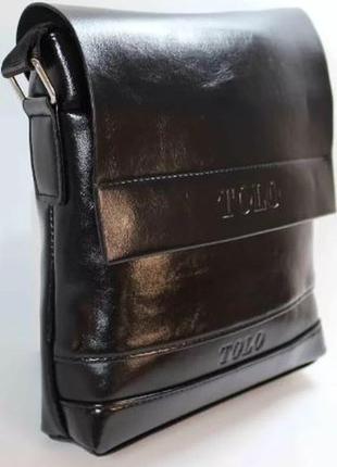 Мужская сумка polo videng через плечо! барсетка