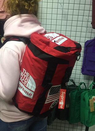 Рюкзак tnf x supreme - спортивная сумка