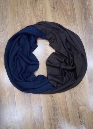 Двухсторонний шарф-хомут