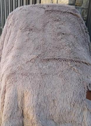 Шикарный плед-покрывало травка, евро размер