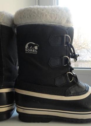 Зимние ботинки sorel waterproof