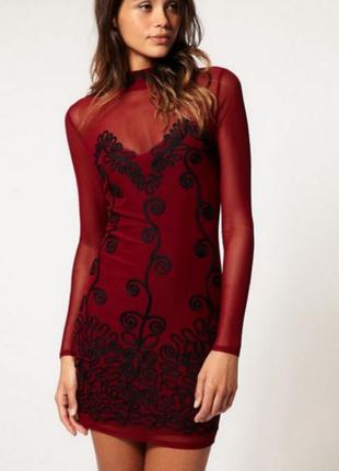 Невероятно роскошное платье с вышивкой asos