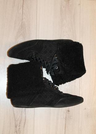 Шикарные ботинки от christian dior оригинал
