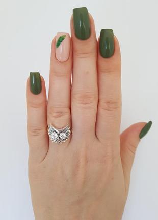 Серебряное кольцо 925 проба с фианитами