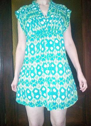 Платье — рубашка. летнее.