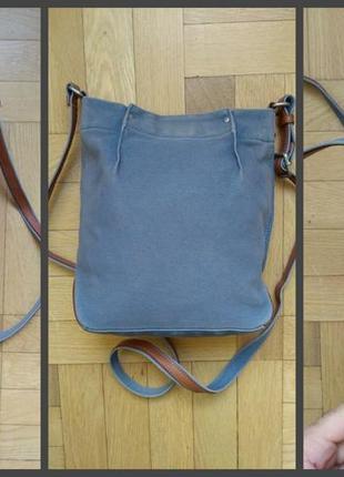 Джинсовая сумочка-карман ecco3 фото