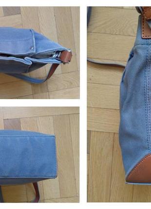 Джинсовая сумочка-карман ecco4 фото