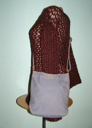Джинсовая сумочка-карман ecco2 фото