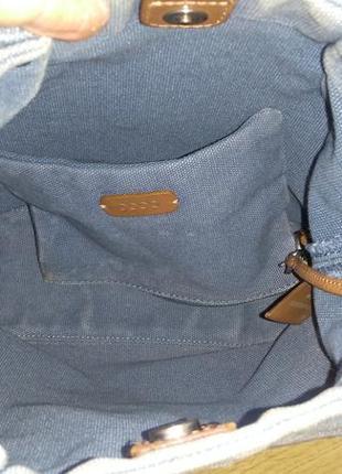 Джинсовая сумочка-карман ecco5 фото