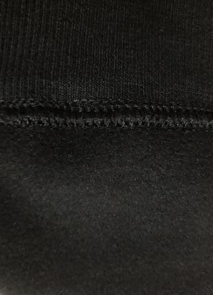 Крутые,модные,базовые,матовые лосины из эко-кожы,на микро-флисе,с высокой талией7 фото
