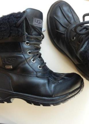 Кожаные зимние ботинки ugg 37р