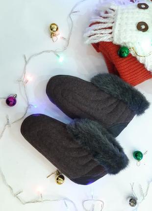Бурки, обувь,  теплые тапочки, ручная работа,  комнатные сапожки, 36,37 размер