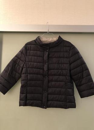 Куртка amisu с укорочёнными рукавами