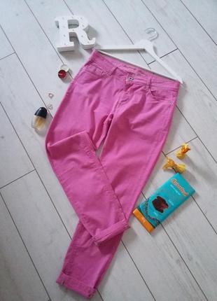Raffaello rossi дизайнерские брюки джинсы фуксия