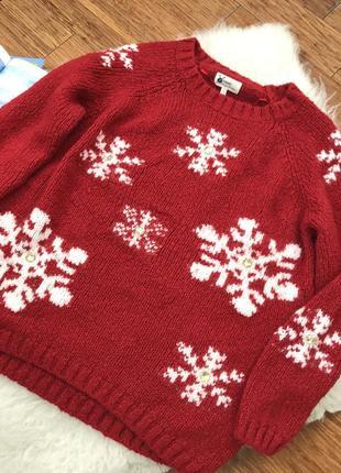 Новогодние свитер, большой размер