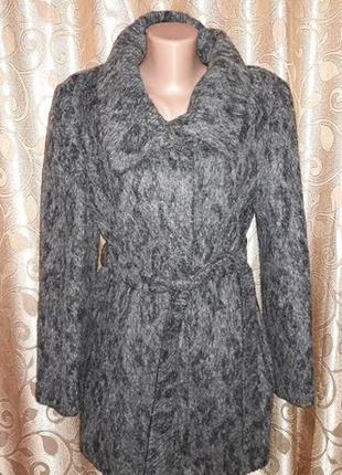 Женское стильное демисезонное пальто из альпаки betty barclay