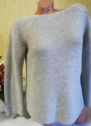 Красивый удлиненный свитер, джемпер, туника