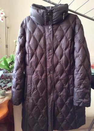 Пуховик пуховое пальто basler
