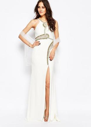 Платье с декоративной отделкой forever unique skylar