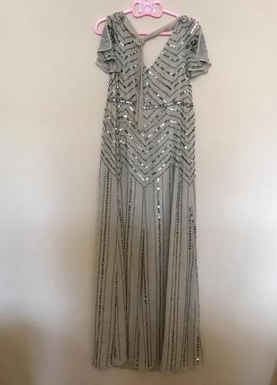 Роскошное платье бисер паетки asos