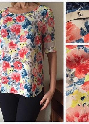 Красивая💕 воздушная блуза/футболка