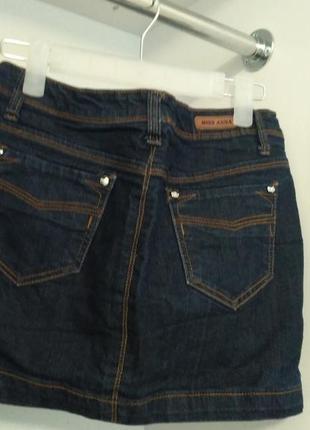 Джинсовая юбка хорошего качества, состояние идеальное2