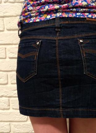 Джинсовая юбка хорошего качества, состояние идеальное3