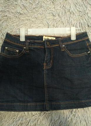Джинсовая юбка хорошего качества, состояние идеальное