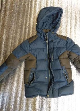 Теплая куртка зима на мальчика