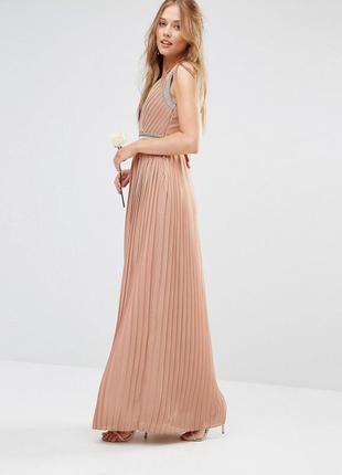 Новорічний розпродаж ! платье со складками tfnc wedding