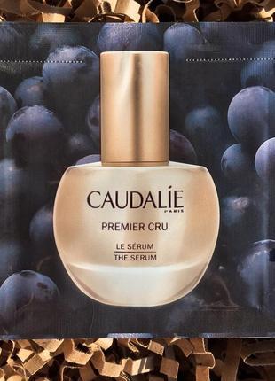 Франция. пробник сыворотки для лица caudalie premier cru the serum