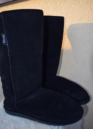 Замшевые угги овчина унты валенки сапоги ботинки зимние р.41 на р.42 28 см