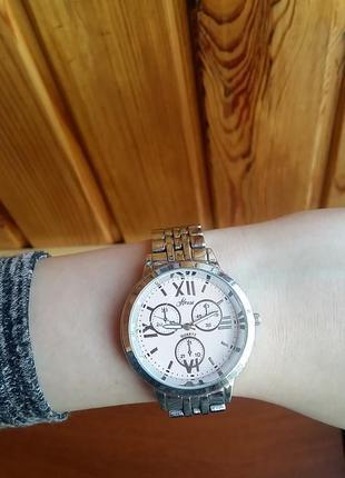 Часы house серебро металлические браслет