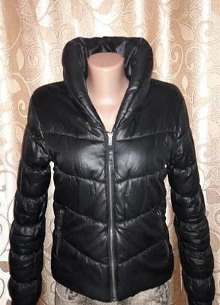 Стильная женская демисезонная короткая куртка h&m