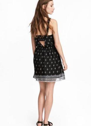 Платье с рисунком h&m размер 36, 40