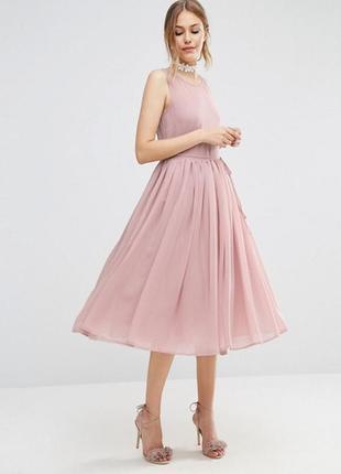Платье миди для выпускного asos