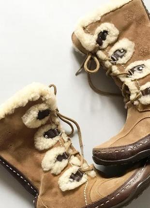 Зимние сапоги the north face оригинал  р 38,5( стелька 24,5)  новейшие, без следов носки