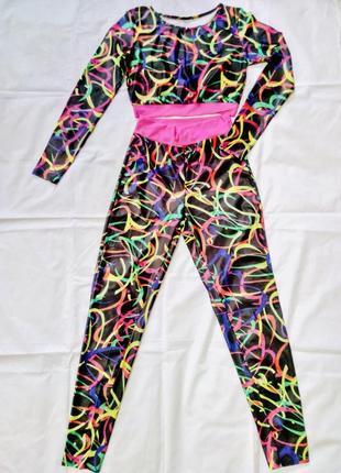 Костюм для фитнесса. костюм для танцев gogo pj