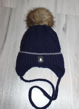Зимняя шапка тм alex group 50-54 см