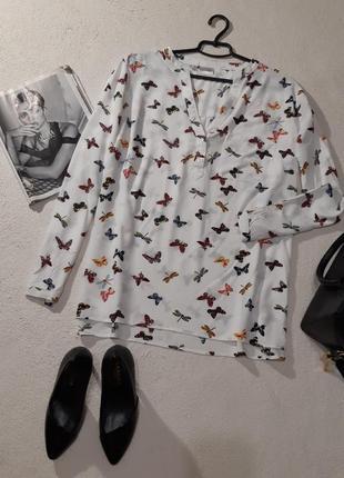 Красивая вискозная рубашка. размер 3xl