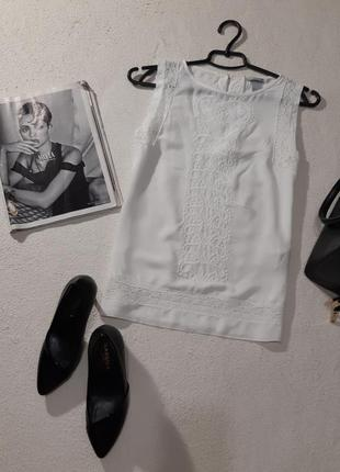 Красивая блуза маечка. размер s маломерит