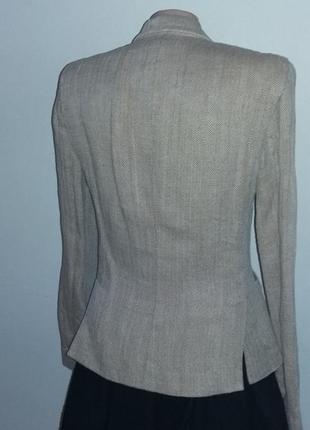 Подиумный льняной пиджак ralph lauren, s