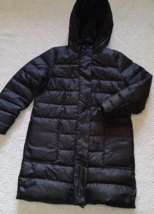 Пуховик тёплый пальто зимнее mango m