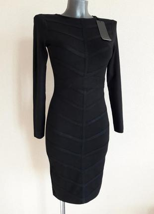 Обаятельное,фигурное стильное,качественное,25%кашемира,5%шерсти,платье в микро-рубчик eb