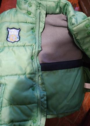 Курточка с капюшоном 12-18 месяцев