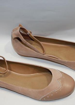 Балетки mint & berry замша германия 42р туфли женские