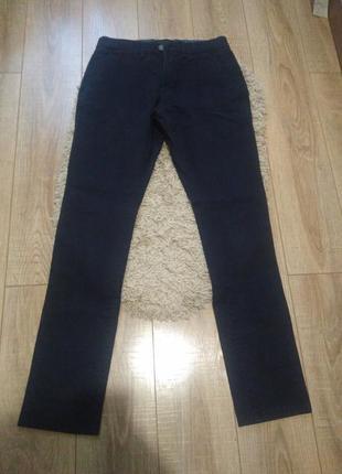 Фирменные коттоновые брюки